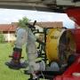 Werfer 2.000 lt., Überdrucklüfter elektrisch, Stromerzeuger