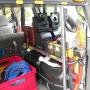 Werkzeuge, Leinen, Treibstoffkanister