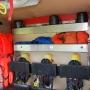Atemschutzausrüstung, Leinenmaterial, FW-Gurte, 3 Stk. Schwimmwesten