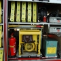 Stromerzeuger, Beleuchtungssatz, Handfeuerlöscher, Greifzug