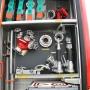 Wasserwerfer, Verteiler, Übergangsstücke, Hydrantenschlüssel, Strahlrohre
