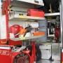 Spanngurt, Türöffnungssatz, Schäkel und Kettengehänge, Rundschlinge, Werkzeugkasten, Reservekanister, Motorsäge, Be- und Entlüftungsgerät, Schwere Hitzeschutzanzüge