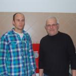 Sebastian Buchwinkler und Albert Niederreiter