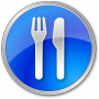 Restaurant-Blue-icon