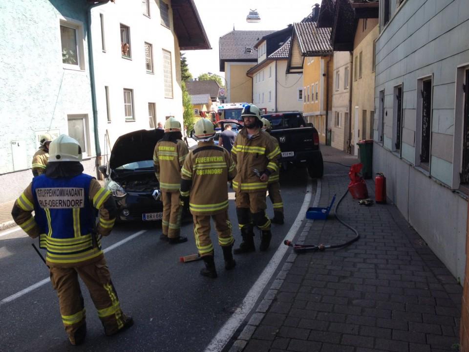 Verkehrsunfall Salzburger Straße