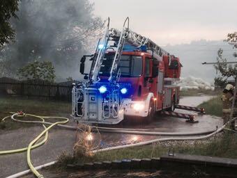 Brand einer Tischlerei in St. Georgen