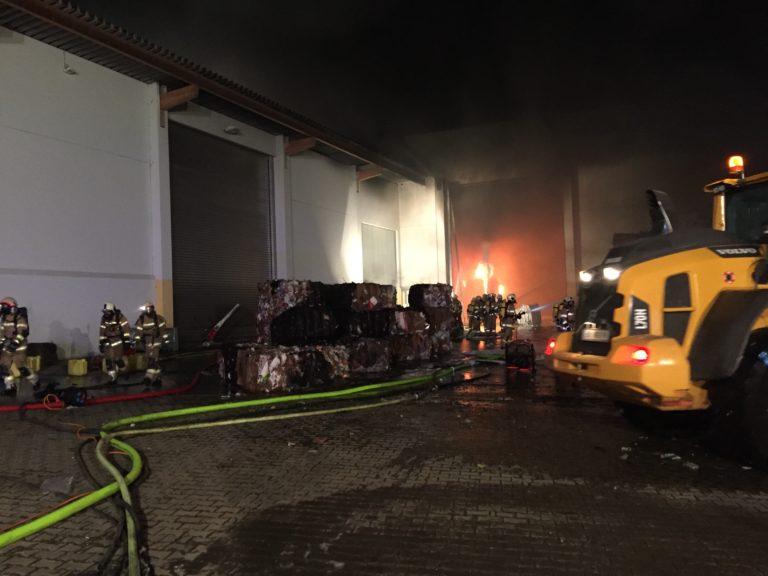 Großbrand in Trimmelkam