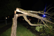 Sturmeinsätze in Oberndorf