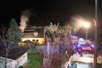Wohnhausbrand in Laufen