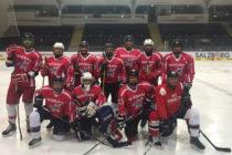 Das Eishockeyteam der FFO