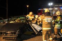 Übung hydraulisches Rettungsgerät