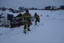 Schneeeinsätze der FFO