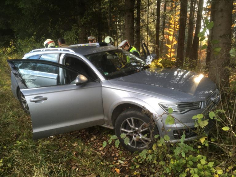 Verkehrsunfall auf der Umfahrung