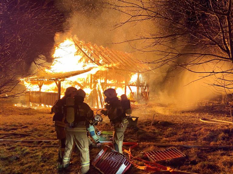 Erneut Brand in Göming