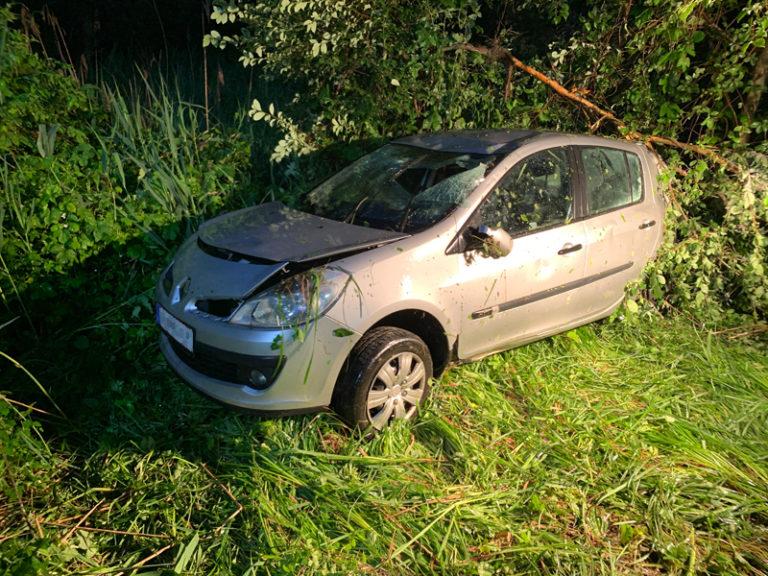Verkehrsunfall B156a Höhe Lukasedt