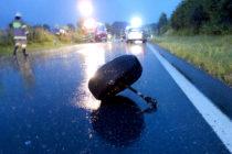 Verkehrsunfall Umfahrung B156
