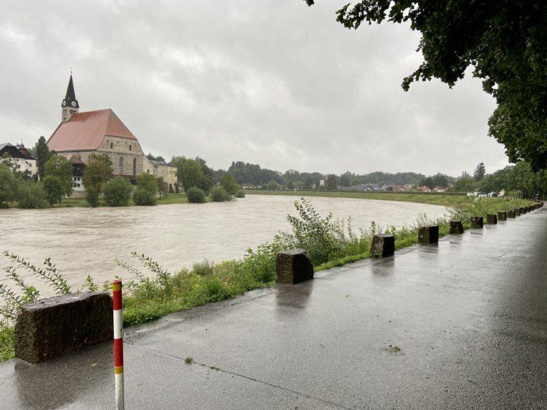 Feuerwehr im Hochwassereinsatz